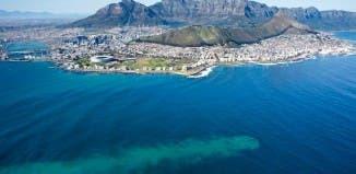 Cape Town untreated sewage at sea