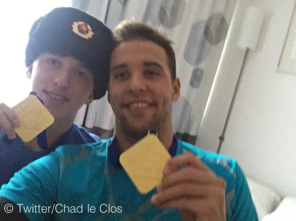 Chad le Clos and his brother