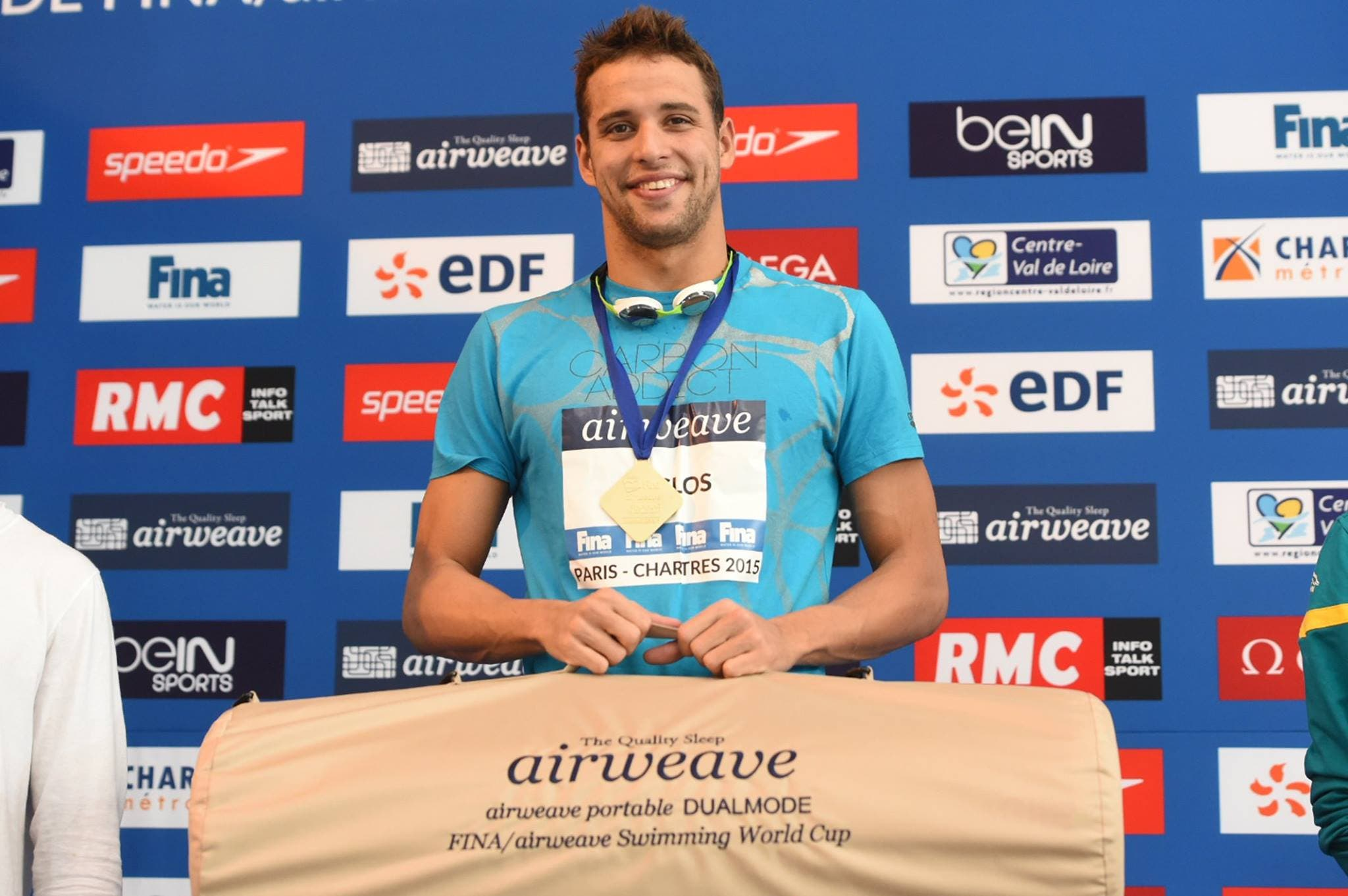 Chad le Clos in Paris