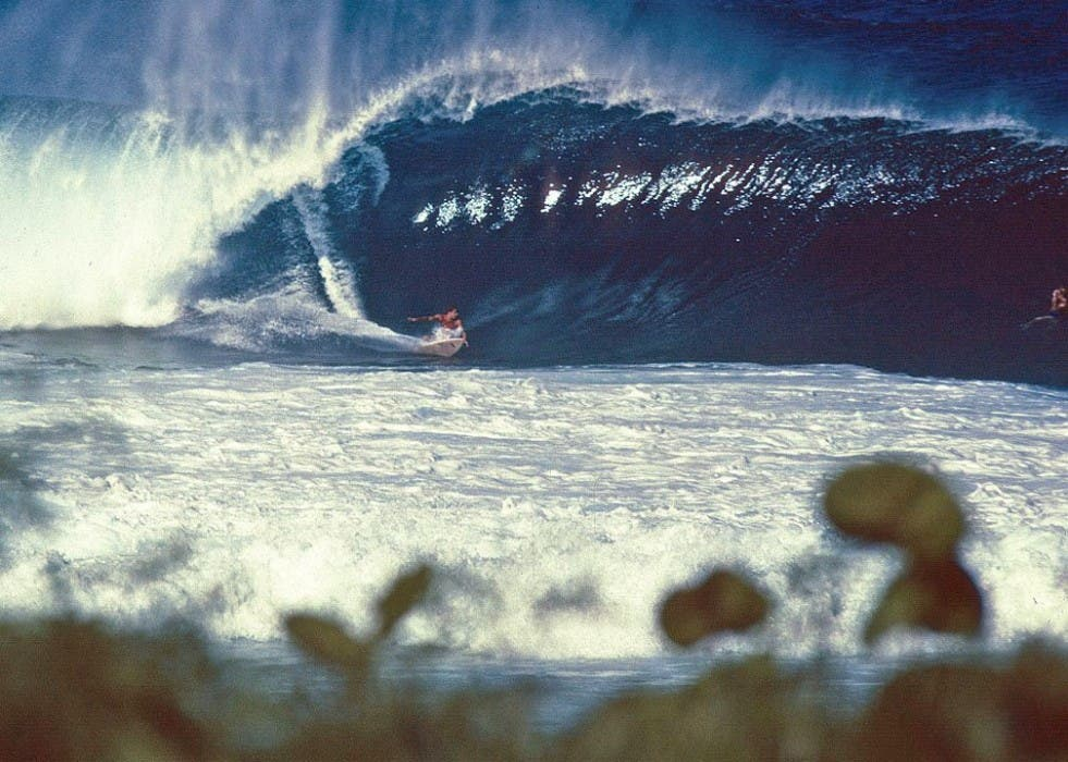Shaun Tomson , Pipeline, 1979.