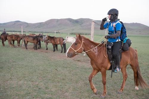 South African wins Mongol Derby