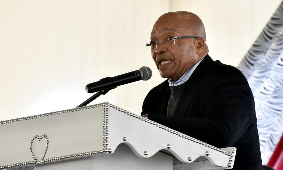 President Jacob Zuma addresses the 7th Inkosi Matomela Heritage Day celebration in Greytown. (Photo: GCIS)