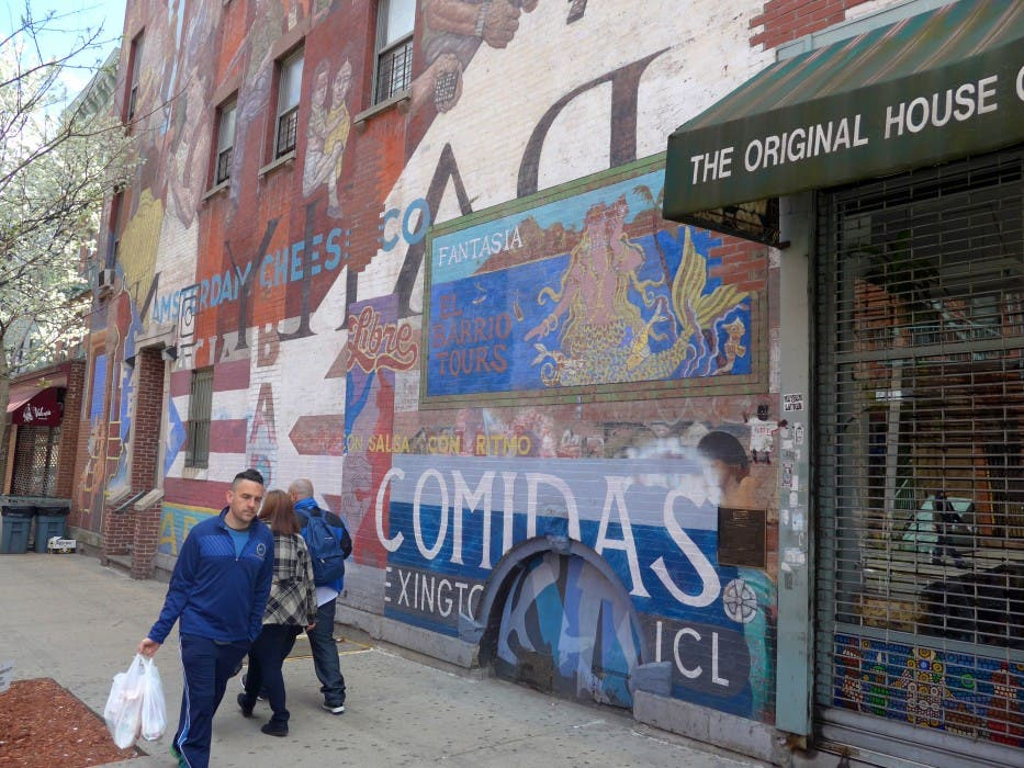 Murals in New York