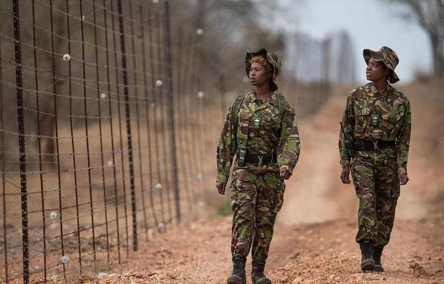 Black Mambas anti-poaching in South Africa