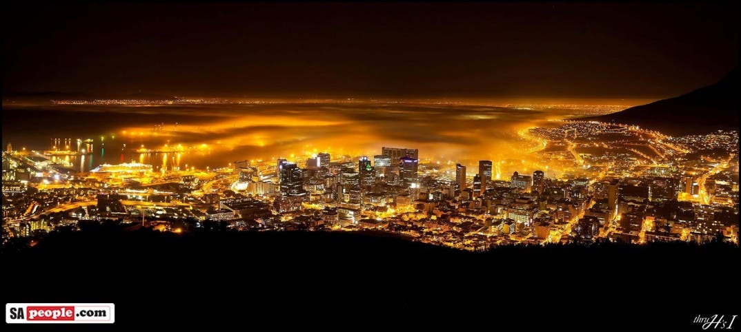 Cape Town lights