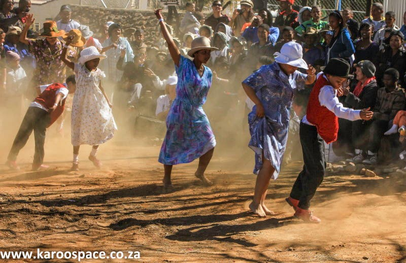 Nama Riel dancers, South Africa