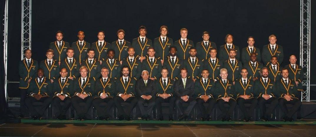 The Springboks' RWC 2015 squad. Photo by Gallo Images. Source: FB/Springboks