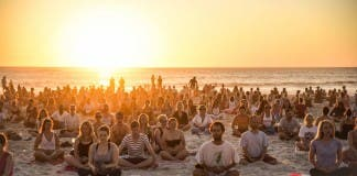 Full Moon Meditation in Camps Bay