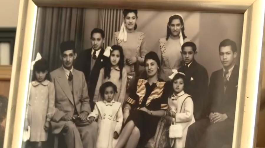 A photograph of a family in Cape Town, from 'An Impossible Return.'