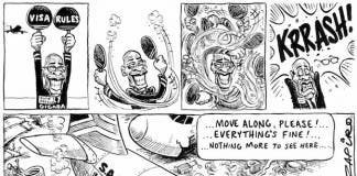 Zapiro on Gigaba visa rule