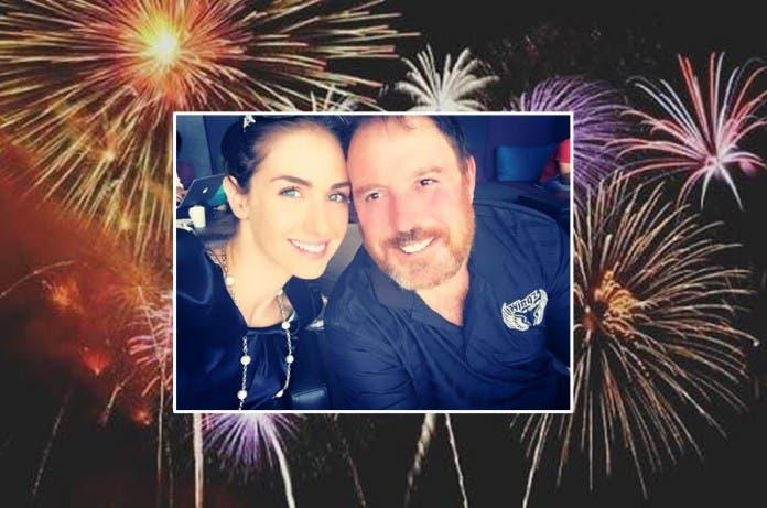 Darren Scott and wife Sarah-Kate