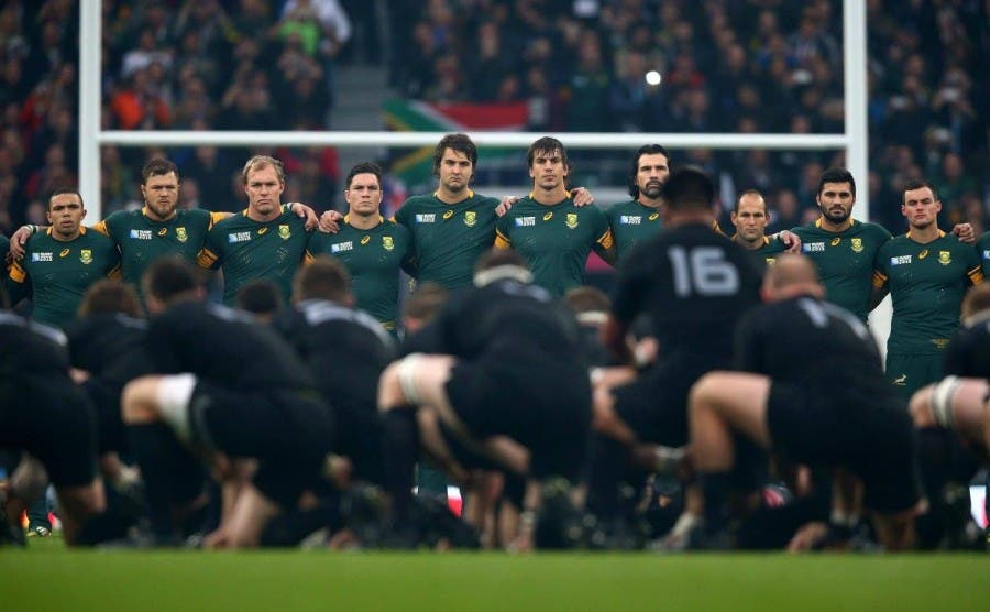 Boks and All Blacks rugby