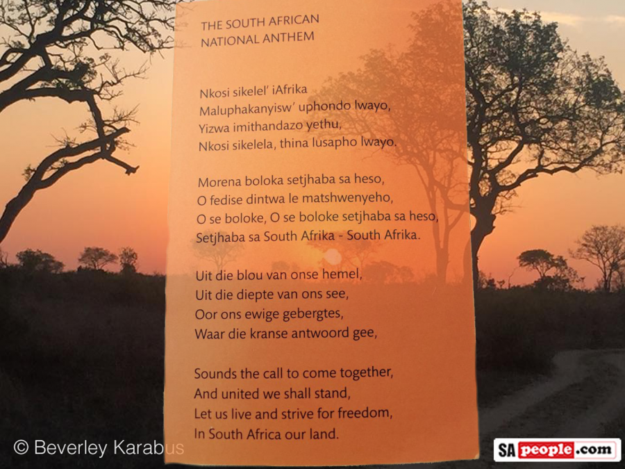 Bokke Fans - Learn to Sing the South African Anthem the Easy
