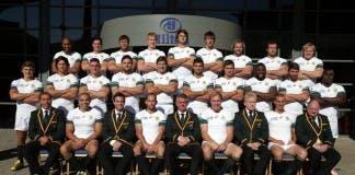 Springboks in white against Scotland