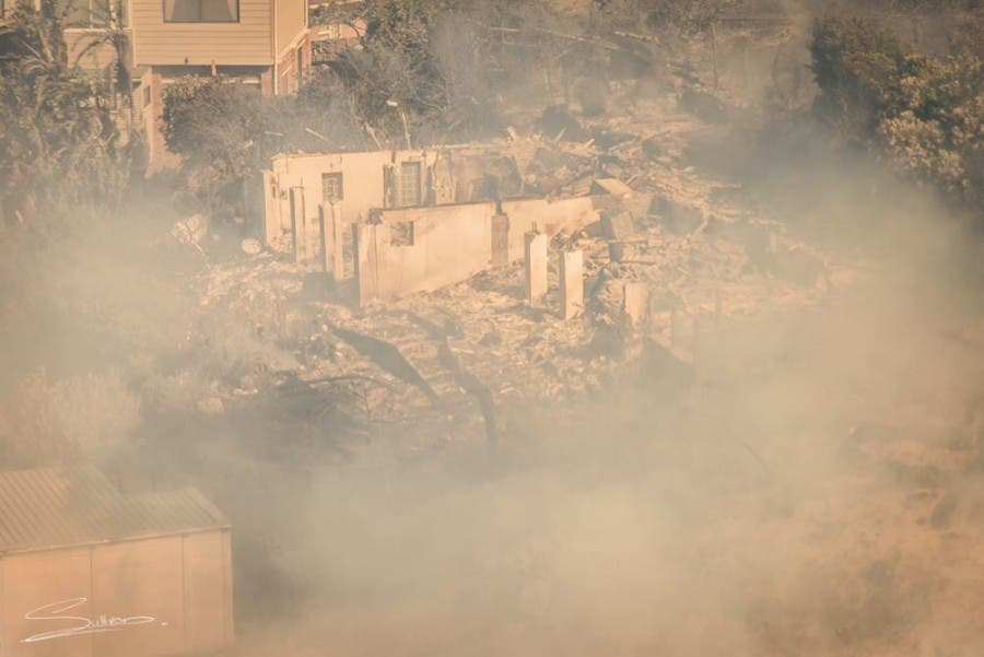 Simonstown Fire South Africa