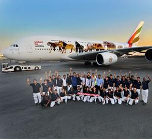 Emirates team