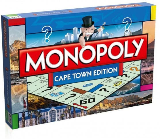Cape Town Monopoly Board