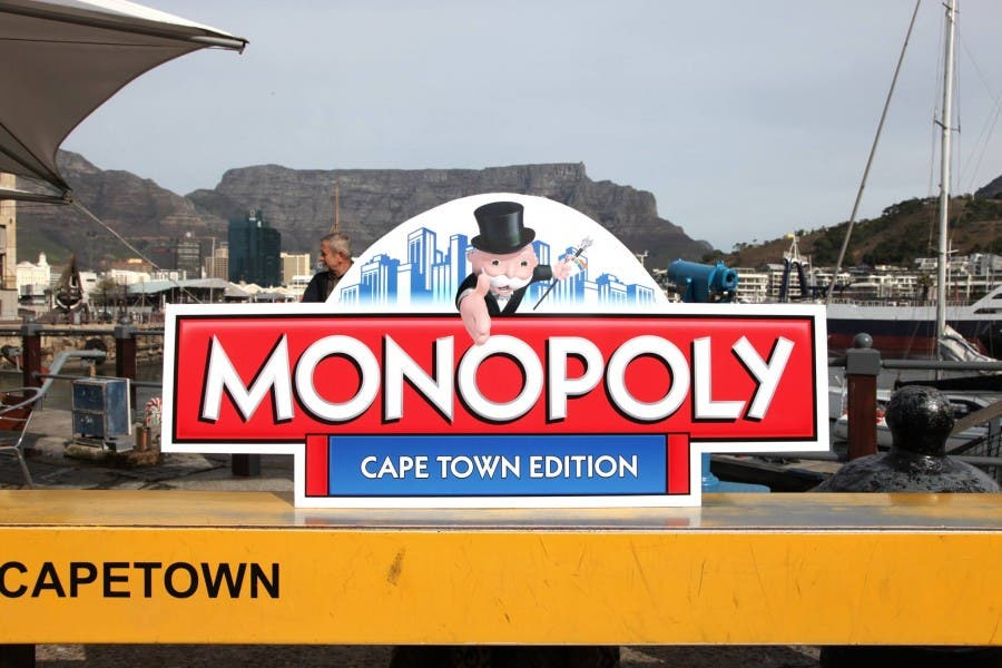 Source: Monopoly Cape Town Facebook page.