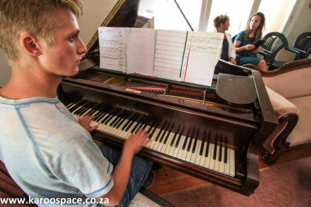 A Piano in the Karoo