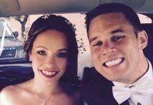 Australian honeymoon couple