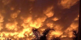 Clouds in South Africa