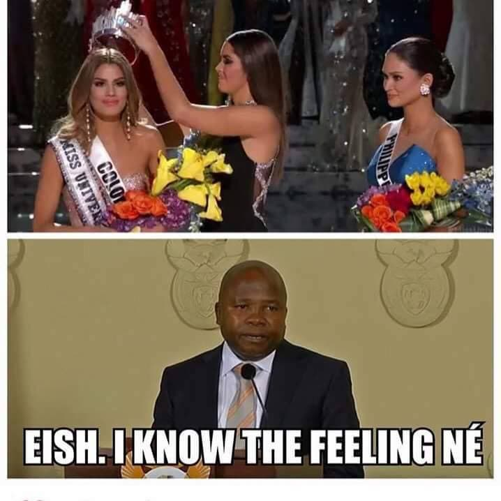 Miss Universe blunder