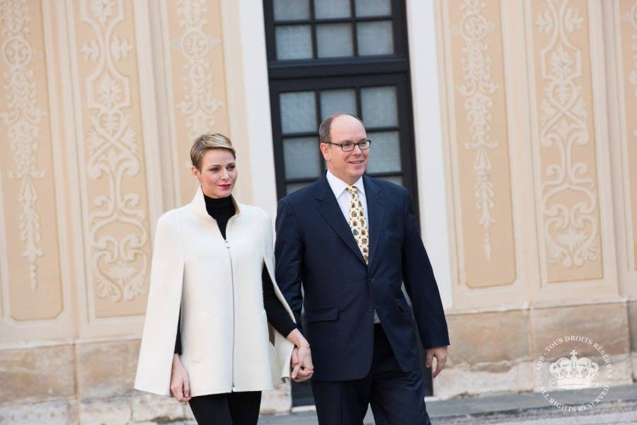 Royal Monaco couple