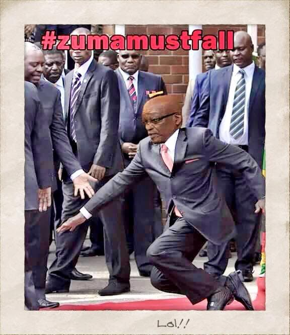 South African Sports minister meme