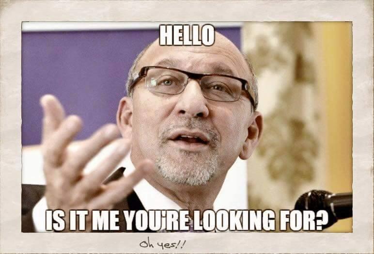 Sports minister meme