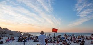 Clifton Beach Silent Concert