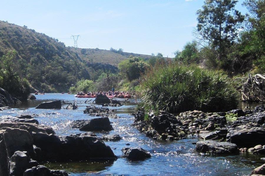 Breede River river rafting
