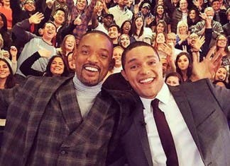 Trevor Noah and Will Smith