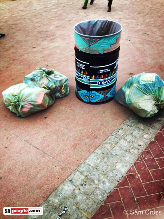 Durban beach clean