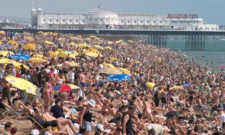 England beach