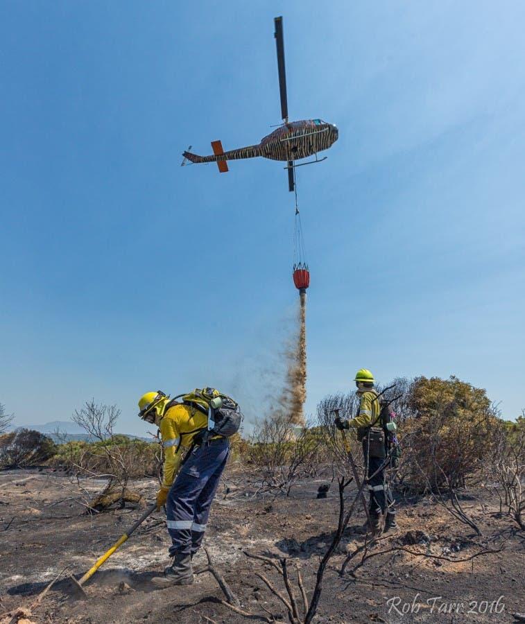 Glencairn Heights Fire, January 2016