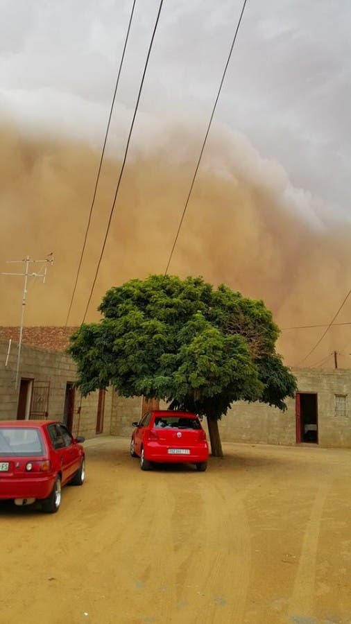 Hoopstad sand storm