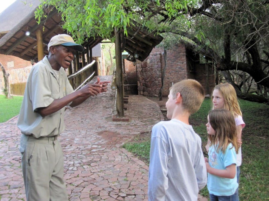 First class education outside of the classroom by William at Yellow Wood Game Lodge, Waterberg, South Africa
