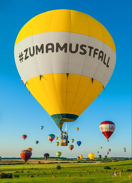 ZumaMustFall Balloon