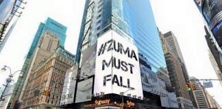 Banner in New York