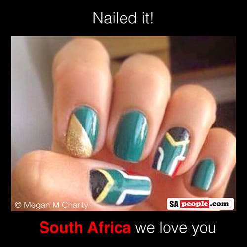 sa flag nails