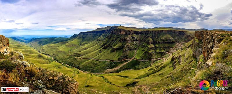 Sani Pass, other side