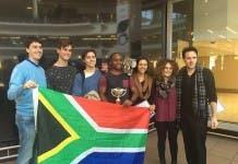Team South Africa debating