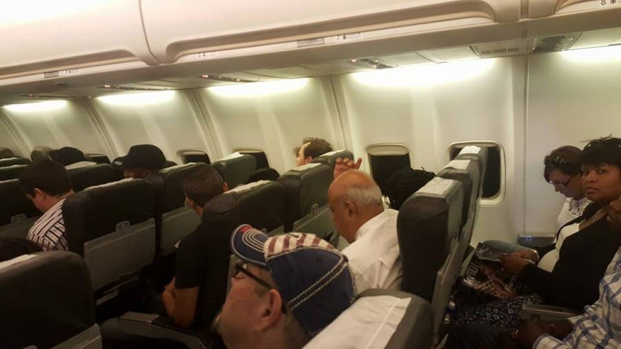 Pravin on Plane