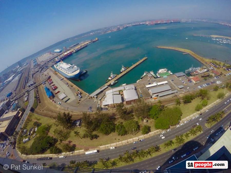 Durban harbour view
