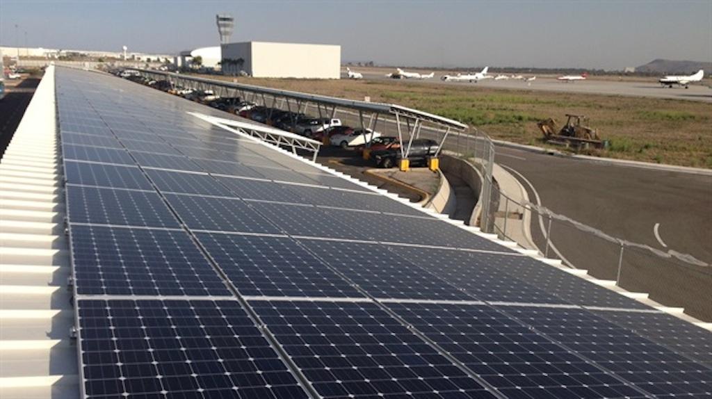 george airport solar