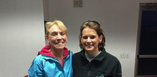 Zola Budd and Mary Decker
