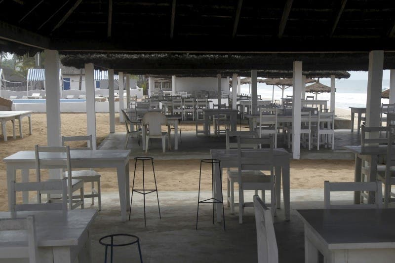 A view of an empty hotel following an attack by gunmen from al Qaeda's North African branch, is pictured in Grand Bassam, Ivory Coast, March 14, 2016. REUTERS/Luc Gnago