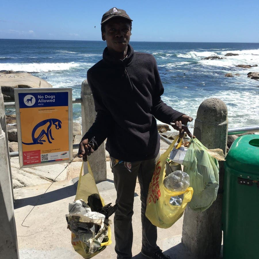 Bantry Bay cleaning guy