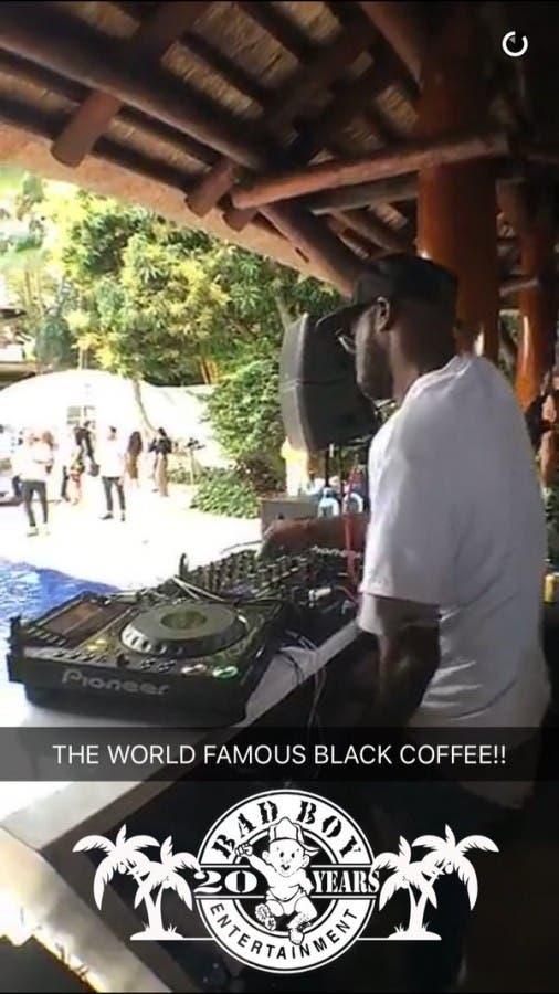 Black Coffee on Snapchat2