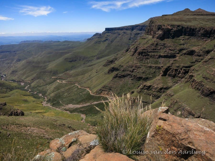 Sani Pass valley